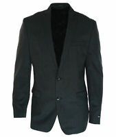 Bar III Men's Wool Slim Fit Two Button Suit Jacket Blazer Charcoal Size 44 Long
