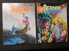 1993 DRAGON Magazine #190 FN- 192 FVF 193 FN+ 196 FVF LOT of 4 D&D AD&D