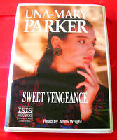 Una-Mary Parker Sweet Vengeance 6-Tape UNABR.Audio Book Anita Wright Suspense