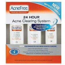 AcneFree 24 Hour Acne Clearing System 3 pc (2 Pack)
