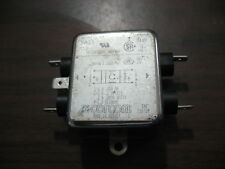 4 2EDL1SC CORCOM POWER ENTRY FILTER SNAP IN DPST 2A 250V  F7350 QTY