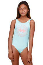 BNWT BILLABONG KIDS GIRLS SUMMER 2018 MALIBU ONE PIECE (10) RRP $60