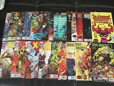 SECRET WARS 0,1-9 + Every Mini Series & MORE 212 Marvel Comic Lot Full Run NM