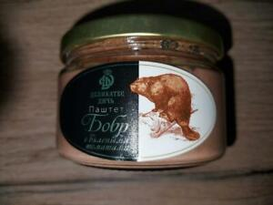 1pcs Beaver pate with dried tomatoes 7,05 oz.