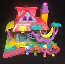 Polly Pocket 💛 1994 - Polly Pocket Light-up Kitty House Animal Wonderland 1.6
