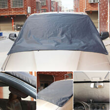 Magnetic Windshield Snow Cover theft Ice Frost Guard Tarp Sun Shield Protector
