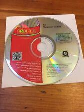Mac Macintosh 1995 Grolier Multimedia Encyclopedia Disc CD 8.0 Homeschoool