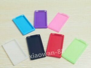 New Silicone Gel Skins Cases Covers For Apple ipod nano 7th 8th Gen 7 Colors