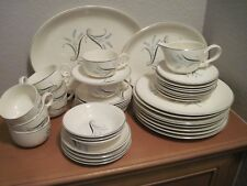 Mid-Century Canonsburg Pottery Co. Allegheny Ware Dinnerware Set w/Serving Pcs!