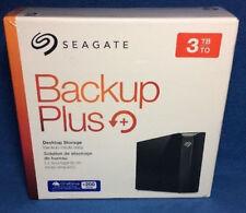 Seagate Backup Plus External USB 3.0 3TB Hard Drive STFM3000100 + 200GB cloud