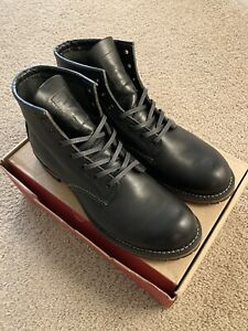 Red Wing 9014 Beckman Boots - Black - 9.5D - NEW