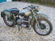 Vintage DOUGLAS MKV 50's Motorcycle Classic British Bike Motorbike 1953