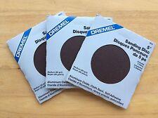 "Genuine Dremel 5"" Aluminum Oxide, Sanding Discs (self adhesive back)(80 grit)"