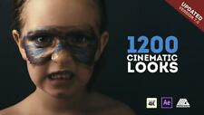 1200 LUTs Color Presets Pack | After Effects Cinematic Looks V.7
