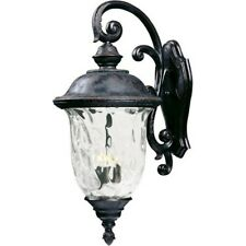 Maxim Carriage House VX 3-Light Outdoor Wall Lantern Bronze -40498WGOB