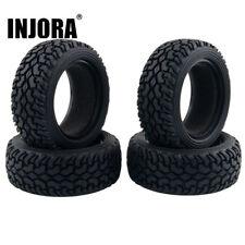 4PCS 1/10 Grain Run Flat Rally Car Tires Tyres for 1/10 RC HSP Tamiya HPI Kyosho