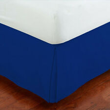 Easy Care Tailored Microfiber 14-inch Bed Skirt Solid New Dust Ruffle