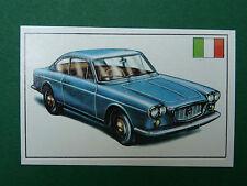 N°163 LANCIA FLAVIA 2000 ITALIE ITALIA PANINI 1972 HISTOIRE DE L'AUTOMOBILE