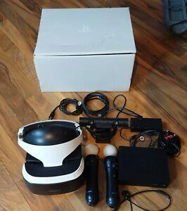 PlayStation VR PSVR PS4 VR Bundle. Headset, Camera, Motion Controllers V2