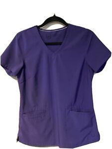 Urban Scrubs Set, Size Small Purple