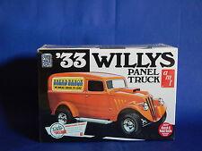 "AMT '33 Willys Panel Truck ""Street Rod"" Model Kit"
