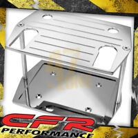 Ball Milled Chrome Billet Al Optima Group 75 25 Battery Tray - Chevy Ford Mopar