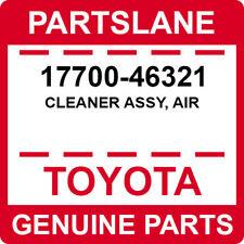 17700-46321 Toyota OEM Genuine CLEANER ASSY, AIR