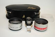 KALIGAR AUXILIARY WIDE ANGLE TELEPHOTO LENS SET FOR KODAK INSTAMATIC & FINDER