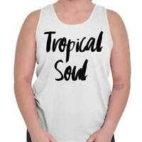 Tropical West Coast Beach Vacation Lifestyle Tank Tops T-Shirts Tees For Womens