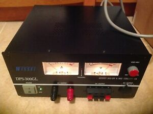 NISSEI PS-300 -THE ULTIMATE 30 AMP TRUE- LINEAR POWER SUPPLY- SUPERBLY CRAFTED