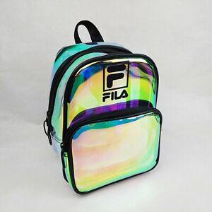 Fila Zenon Mini Backpack FLBP1713-591 Translucent Transparent Iridescent