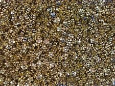 Metal Beads Antique Gold Flowers 100pc Jewellery Spacer DIY Jewelry FREE POSTAGE
