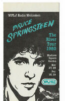 Bruce Springsteen 1980 Concert Tour Sticker The River Vintage Promo Radio RARE