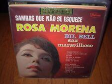 ROSA MORENA / BIL BELL sambas que nao se esquece ( world music ) brazil