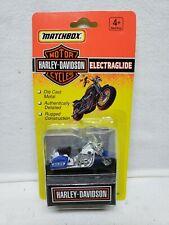 1993 Matchbox Harley Davidson Motor Cycle Sportster Ltd Edition Police Diecast