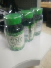 Lot Of 3 Zinc 50 Mg nature's truth 100 Tablets Total 300 Tablets Ex 6/23