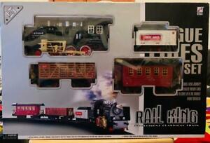 Rail King Intelligent Classical Train Track Set Battery Operated No 19039-1 Kids