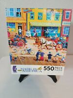 Fire Alarm 550 Piece Jigsaw Puzzle Made in America Bob Pettes Sealed Free Ship