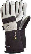Tegera 595 Waterproof Extra Long Leather Winter Lined Gloves 3M THINSULATE 200G