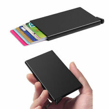 Test Aluminum Wallet Card Case For Metal ID Credit Card Holder RFID Protector