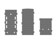 RC/ESC Marcos de montaje, 1 mm, LOGO 700 XXtreme
