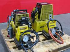 Enerpac Lot of (4) Hydraulic Pump 10,000 Psi Per-3045 2042 Pud1100B bidadoo