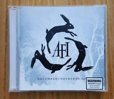 AFI - December Underground CD 2006 Punk