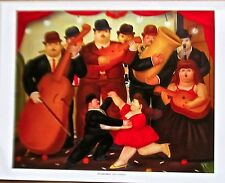 Fernando Botero Poster Ball in Columbia 14x11 Offset Lithograph Unsigned