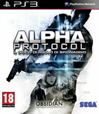 Videogame Alpha Protocol PS3