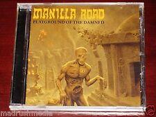 Manilla Road: Playground Of The Damned CD 2011 Shadow Kingdom USA SKR047CD NEW