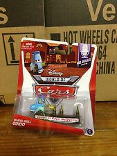 Disney Pixar Cars Wheel Well Guido Mel Dorado Show Bar Bottles MONMC HTF RARE