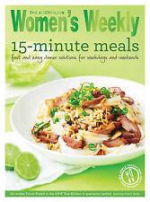 Women's Weekly ~15 Minute Meals ~COOKBOOK REPRINTED-POPULAR DEMAND