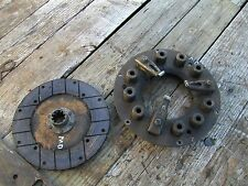 Farmall Md M Diesel Tractor Ih Engine Motor Clutch Assembly Amp Pressure Plate