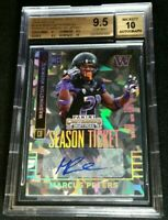 /23 MARCUS PETERS CRACKED ICE RC AUTO BGS 9.5/10 *1/1 w/ SUB 10 *2015 Contenders